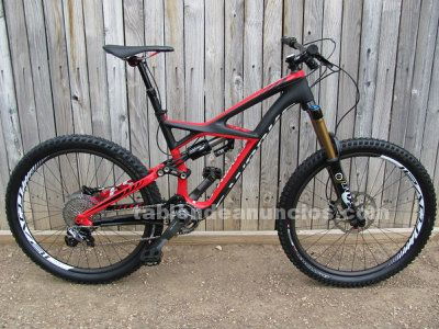 Specialized s-works enduro carbon 2013