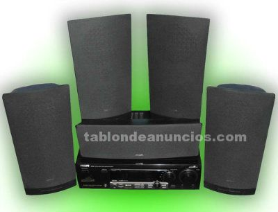 Home cinema 5.1 philips fr 960 + 5 altavoces