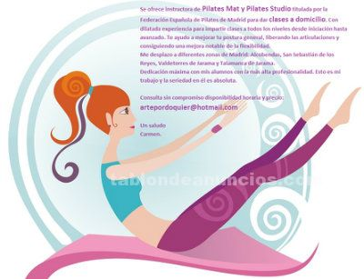 Clases particulares pilates mat