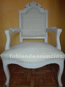 Tabl n de anuncios sillones estilo frances muy elegante - Sillones estilo frances ...