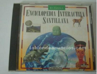 Enciclopedia interactiva santillana