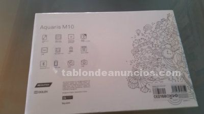 Vendo tablet aquaris m10 nueva