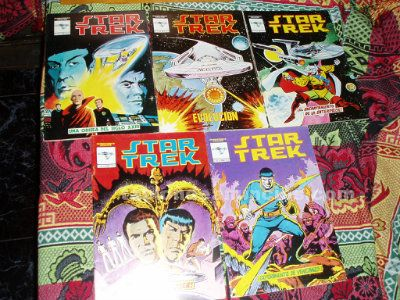 Star trek, ediciones v�rtice, s. A. , bar