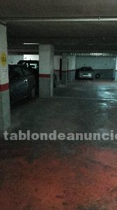 Alquilo parking en edificio mercadona pere martell