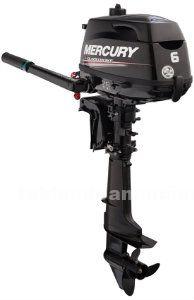 Motor mercury 6 cv.