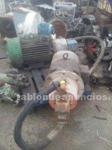 Motor vickers con bomba hidráulica.