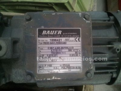 Moto-reductor doble bauer