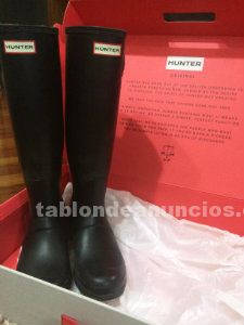 Botas hunter negras 39