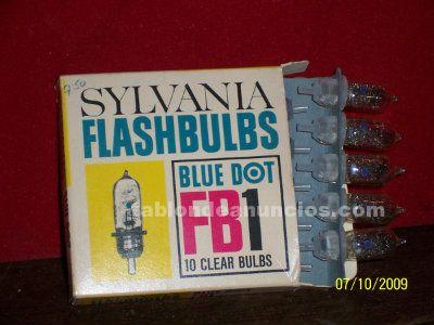 Flash bulbs  blue dots  fb1 sylvania