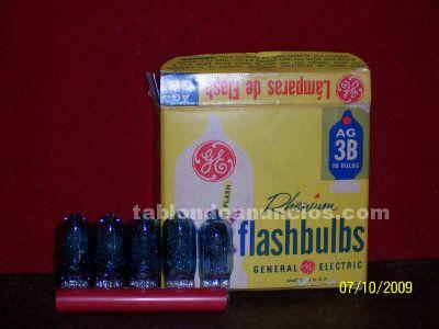 Flash bulbs   ag-3b    general electric