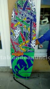 Se vende tabla de kitesurf