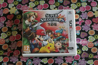 Vendo juego super smash bros para nintendo 3ds