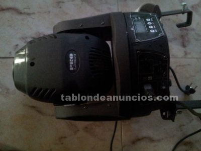 Vendo cabezas moviles led