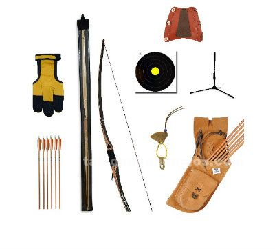 Kit arco longbow ickory 68""