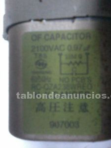 Vendo of capacitor rc-oza238wreo 21000vaco.97 907003.