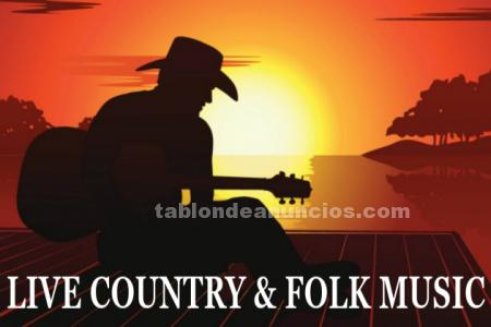 ¡country/folk en directo!