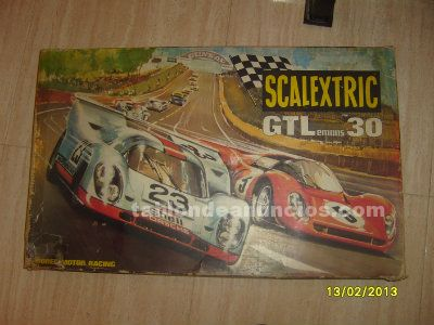 Scalextric gtlemans 30