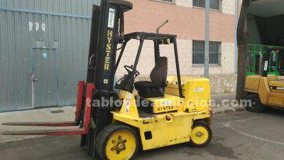 Carretilla hyster s7.00xl diesel 7000kg