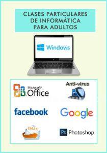 Clases particulares informática adultos