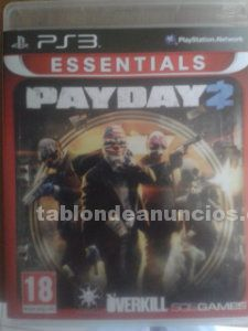 Payday 2 ps3 f�sico