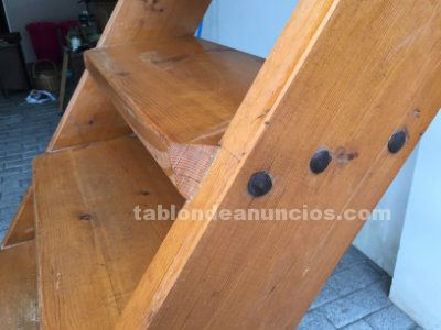 TABLÓN DE ANUNCIOS .COM - Escalera de madera ideal para altillo con ...