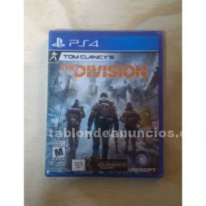 The division ps4 perfecto estado