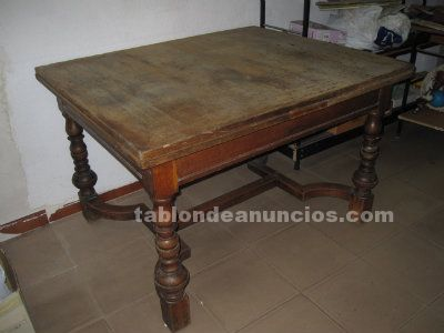 MESA ANTIGUA DE ROBLE