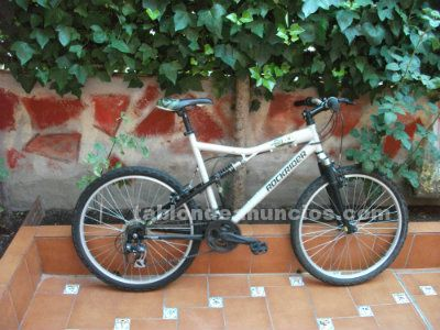 BICI DE MONTAÑA DOBLE SUSPENSION TALLA L ROCKRIDER 6.0