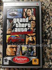 Juego psp «grand theft auto»