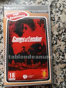 Juego psp «gangs off london»