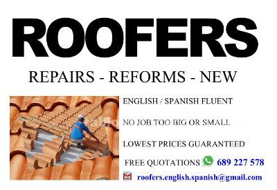Roofers                          repairs - reforms - new