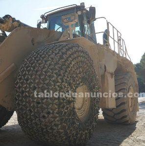 Cadenas para neumáticos de maquinaria pesada y camiones