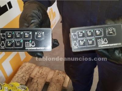Monitor / consola / display case-poclain