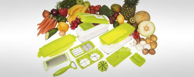 Cortador de verdura y fruta nicer dicer plus