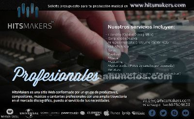Productores buscan cantantes