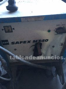 Soldador de electrodos air liquide m340