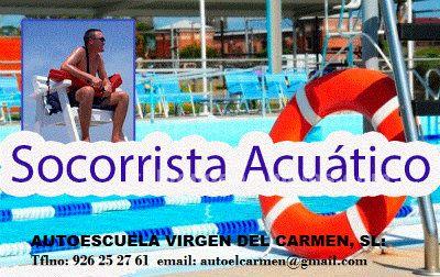 CURSO DE SOCORRISTA Y SALVAMENTO ACUATICO