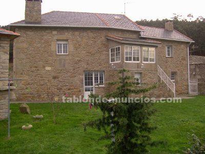 Casa de vacaciones en galicia cerca de la playa con jardin y barbacoa