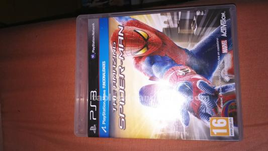 Spiderman amazing ps3