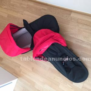 Mountain buggy duet 2.5 vendo 2 capazos