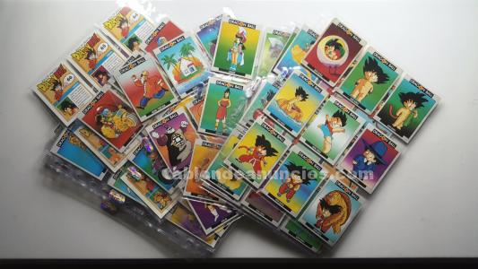 Colecion de cromos dragon ball .