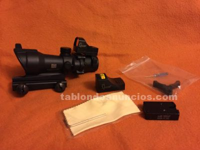 Trijicon acog style 4x32 rifle scope docter point
