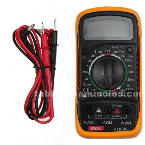 Multimetro digital (multimeter transitor tester) xl830l