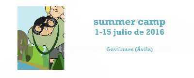 Summer camp. 1-15 de julio de 2016 en gavilanes