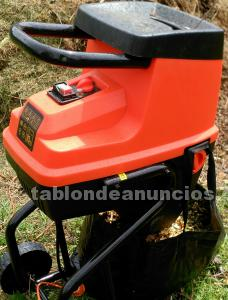 Biotrituradora black and decker 2400 watios
