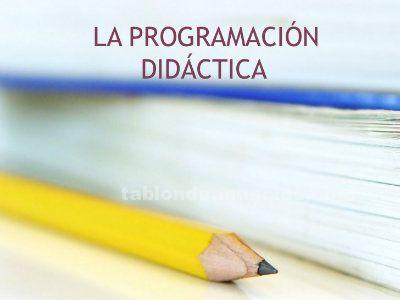 VENDO PROGRAMACION OPOSICIONES  PRIMARIA PESONALIZADA