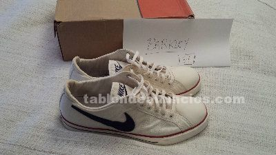 Nike canvas 2005 blancas