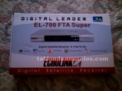 Vendo digital satellite receiver el – 700 fta super