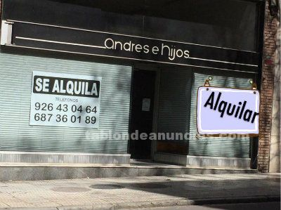 Oportunidad local zona centro
