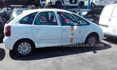 Disponible despiece de citroen xsara picasso 2011 1.6 hdi